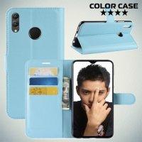 Чехол книжка для Huawei Honor 8X - Голубой