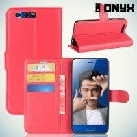Чехол книжка для Huawei Honor 9 - Красный