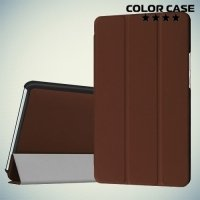 Чехол книжка для Huawei MediaPad M3 8.4 - Коричневый