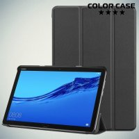 Чехол книжка для Huawei Mediapad M5 Lite 10 - Черный