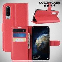Чехол книжка для Huawei P30 - Красный