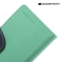 Чехол книжка для iPhone 6S / 6 Mercury Goospery - Голубой