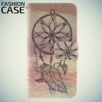 Чехол книжка для iPhone 8/7 - с рисунком Талисман