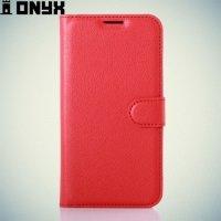 Чехол книжка для LG K4 K130E - Красный