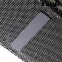 Чехол книжка для LG Nexus 5X - с рисунком Бабочки на чёрном