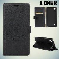 Чехол книжка для LG X Power K220DS - Черный