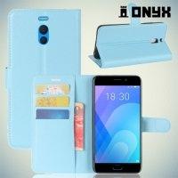 Чехол книжка для Meizu M6 Note - Голубой