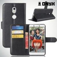 Чехол книжка для Nokia 7 - Черный