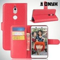 Чехол книжка для Nokia 7 - Красный
