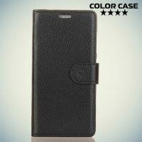 Чехол книжка для OnePlus 5T - Черный