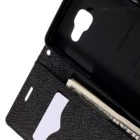 Чехол книжка для Samsung Galaxy A5 2016 SM-A510F Mercury Goospery - Черный