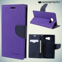 Чехол книжка для Samsung Galaxy A5 2016 SM-A510F Mercury Goospery - Фиолетовый