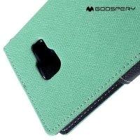 Чехол книжка для Samsung Galaxy A5 2016 SM-A510F Mercury Goospery - Бирюзовый