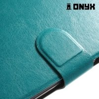 Чехол книжка для Samsung Galaxy J5 2016 - Голубой