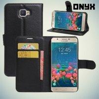 Чехол книжка для Samsung Galaxy J5 Prime  - Черный