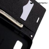 Чехол книжка для Samsung Galaxy S7 Edge Mercury Goospery - Черный
