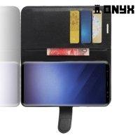 Чехол книжка для Samsung Galaxy S9 Plus - Черный