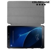 Чехол книжка для Samsung Galaxy Tab A 10.1 2016 SM-T580 SM-T585 - Белый