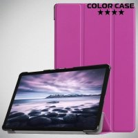 Чехол книжка для Samsung Galaxy Tab A 10.5 2018 SM-T595 SM-T590 - Фиолетовый