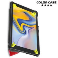 Чехол книжка для Samsung Galaxy Tab A 8.0 2018 (SM-T387) - Красный