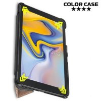Чехол книжка для Samsung Galaxy Tab A 8.0 2018 (SM-T387) - Золотой