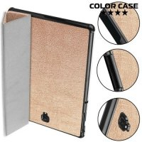 Чехол книжка для Samsung Galaxy Tab S4 10.5 SM-T830 SM-T835 - Розовое золото