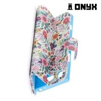 Чехол книжка для Sony Xperia XZ1 Compact - Цветы
