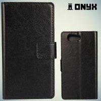 Чехол книжка для Sony Xperia Z3 Compact D5803 - Черный
