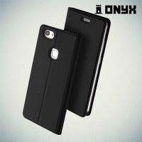 Чехол книжка для Vivo V7 Plus - Черный