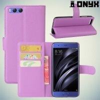 Чехол книжка для Xiaomi Mi 6 - Фиолетовый