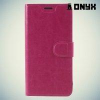 Чехол книжка для Xiaomi Redmi Note 5A 2/16GB- Розовый