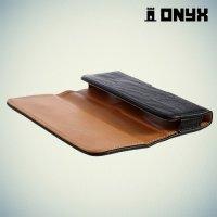 Чехол кобура на пояс ремень Onyx для телефонов с диагональю дисплея до 5.4 дюйма