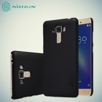 Чехол накладка Nillkin Super Frosted Shield для Asus ZenFone 3 Laser ZC551KL  - Черный