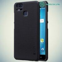 Чехол накладка Nillkin Super Frosted Shield для Asus Zenfone 3 Zoom ZE553KL - Черный