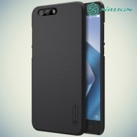 Чехол накладка Nillkin Super Frosted Shield для Asus ZenFone 4 ZE554KL - Черный