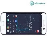 Чехол накладка Nillkin Super Frosted Shield для HTC 10 / 10 Lifestyle - Черный