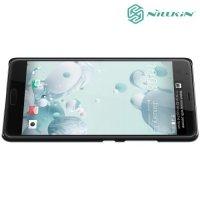 Чехол накладка Nillkin Super Frosted Shield для HTC U Ultra - Черный