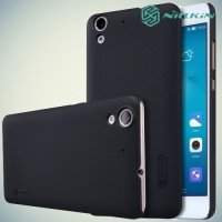 Чехол накладка Nillkin Super Frosted Shield для Huawei Y6 II - Черный