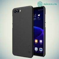 Чехол накладка Nillkin Super Frosted Shield для Huawei Honor View 10 (V10) - Черный