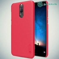 Чехол накладка Nillkin Super Frosted Shield для Huawei Nova 2i - Красный
