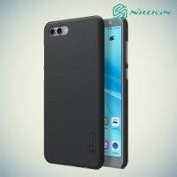 Чехол накладка Nillkin Super Frosted Shield для Huawei Nova 2s - Черный