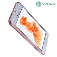 Чехол накладка Nillkin Super Frosted Shield для iPhone 8/7 - Розовое золото