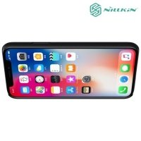 Чехол накладка Nillkin Super Frosted Shield для iPhone Xs / X - Черный