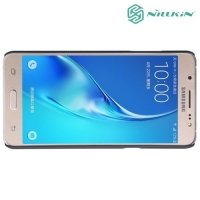 Чехол накладка Nillkin Super Frosted Shield для Samsung Galaxy J5 2016 SM-J510 - Черный
