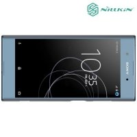 Чехол накладка Nillkin Super Frosted Shield для Sony Xperia XA1 Plus - Черный
