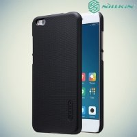 Чехол накладка Nillkin Super Frosted Shield для Xiaomi Mi 5c - Черный