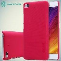 Чехол накладка Nillkin Super Frosted Shield для Xiaomi Mi 5s - Красный
