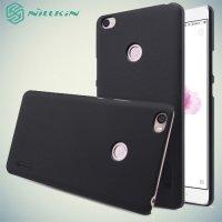 Чехол накладка Nillkin Super Frosted Shield для Xiaomi Mi Max - Черный