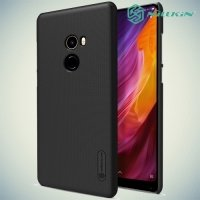 Чехол накладка Nillkin Super Frosted Shield для Xiaomi Mi Mix 2 - Черный