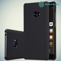 Чехол накладка Nillkin Super Frosted Shield для Xiaomi Mi Note 2 - Черный